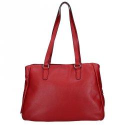 Elegantní dámská kožená kabelka Katana Marionet - červená