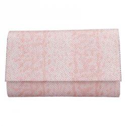 Elegantní dámské psaníčko Lóra - růžová