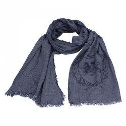 Elegantní pánská šála Lerros Merlin - modrá