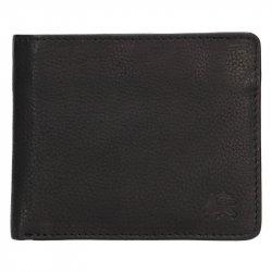 Kožená pánská peněženka Lerros Jhose - černá