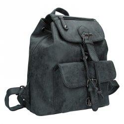 Moderní dámský batoh Enrico Benetti 66194 - černá