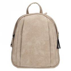 Moderní ekokožený dámský batoh Just Dreamz 1000304 - béžová