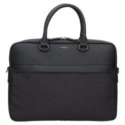 Pánská business taška přes rameno Hexagona Phil - černo-šedá