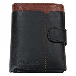 Pánská kožená peněženka Always Wild Tyler - černá
