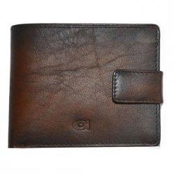 Dámská kožená peněženka DD Anekta Simona - černá