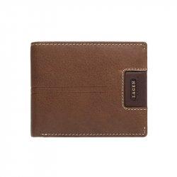 Pánská kožená  peněženka Lagen Rolanos - hnědá