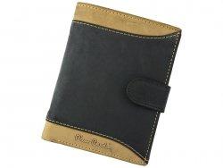 Pánská kožená peněženka Pierre Cardin Andre - černo-hnědá