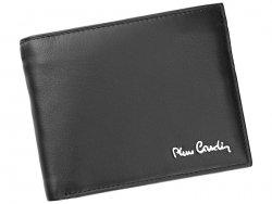 Pánská kožená peněženka Pierre Cardin Ceasar - černá