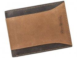 Pánská kožená peněženka Pierre Cardin Dan - hnědá