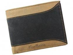 Pánská kožená peněženka Pierre Cardin Patrick - černo-hnědá