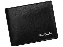 Pánská kožená peněženka Pierre Cardin Paule - černá