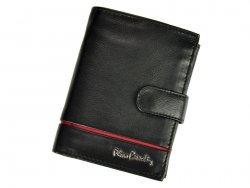 Pánská kožená peněženka Pierre Cardin Philippe - černo-červená