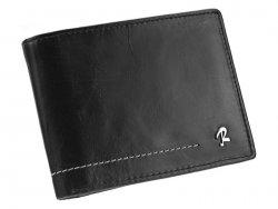 Pánská kožená peněženka Rovicky Albert - černá