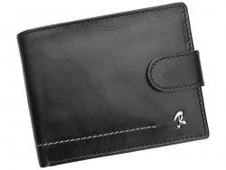 Pánská kožená peněženka Rovicky Robert - černá