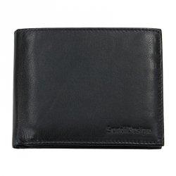 Pánská kožená taška 2JUS Stone 3 - černá