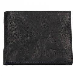 Pánská kožená peněženka SendiDesign SNW6946 - černá