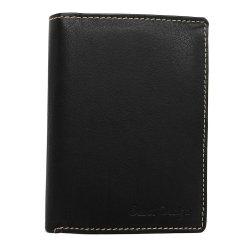 Pánská kožená peněženka SendiDesign Walt - černá