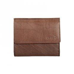 Pánská kožená slim peněženka Lagen Jonatan - hnědá