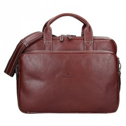 Pánská kožená taška přes rameno Hexagona 123479 - koňak