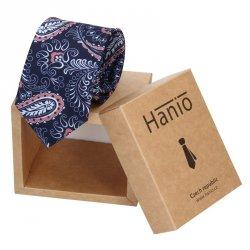 Pánská kravata Hanio Dylan -modrá
