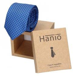 Pánská kravata Hanio Sten - modrá