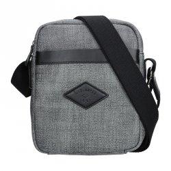 Panská taška na doklady Lee Cooper Milano - šedá