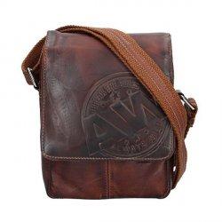 Pánská taška přes rameno Always Wild Sten - hnědá