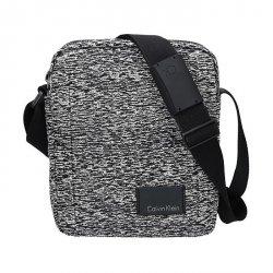 Pánská taška přes rameno Calvin Klein Mercier - černo-bílá