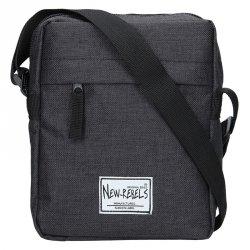 Pánská taška přes rameno New Rebels Luis - černá