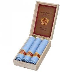 Pánské kapesníky v luxusní sadě ETEX Martin - modrá
