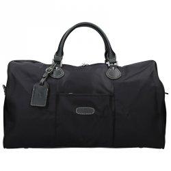 Unisex cestovní taška Hexagona Week - černá