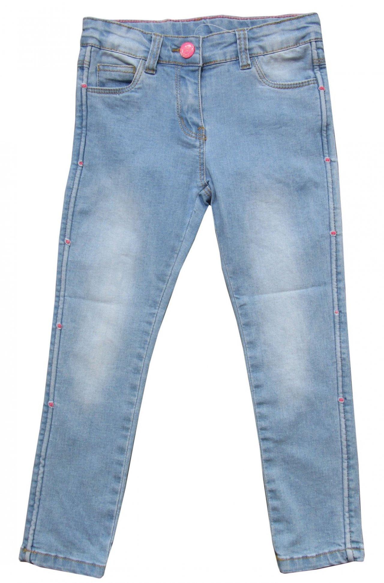 80e91d0d8b9 Carodel Dívčí riflové kalhoty - modré