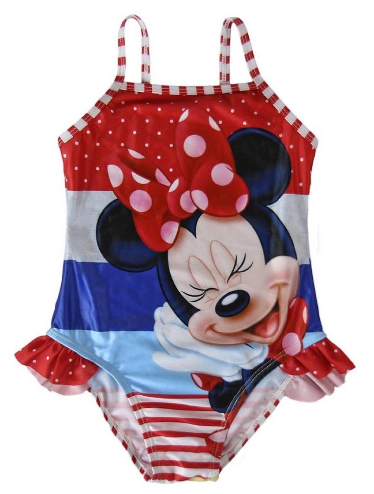 56d1b3421e Disney Brand Dívčí plavky Minnie - barevné