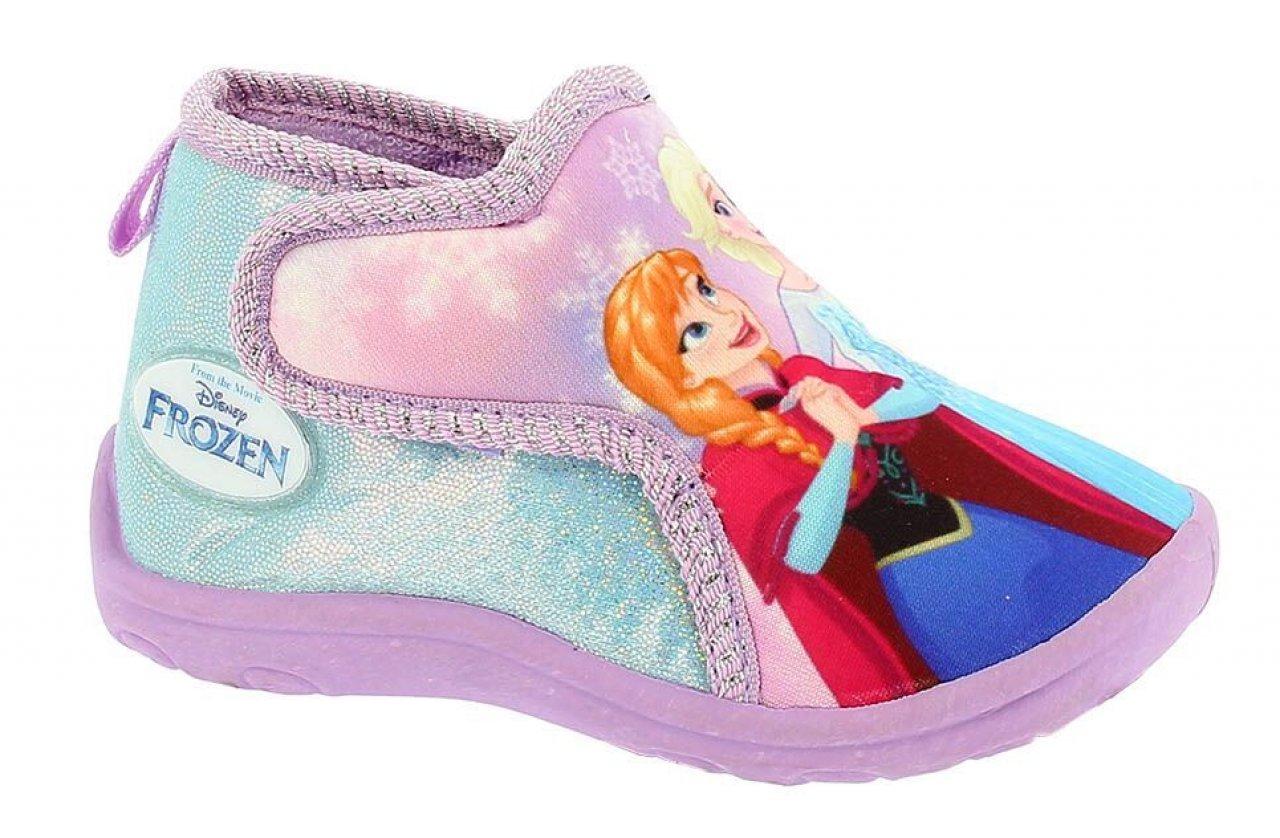 6ecea924e403 Disney by Arnetta Dívčí bačkůrky Frozen - fialové