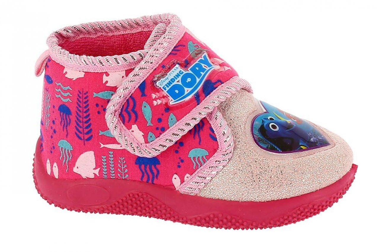 dd92b3024b16 Disney by Arnetta Dívčí bačkůrky Hledá se Dory - růžové