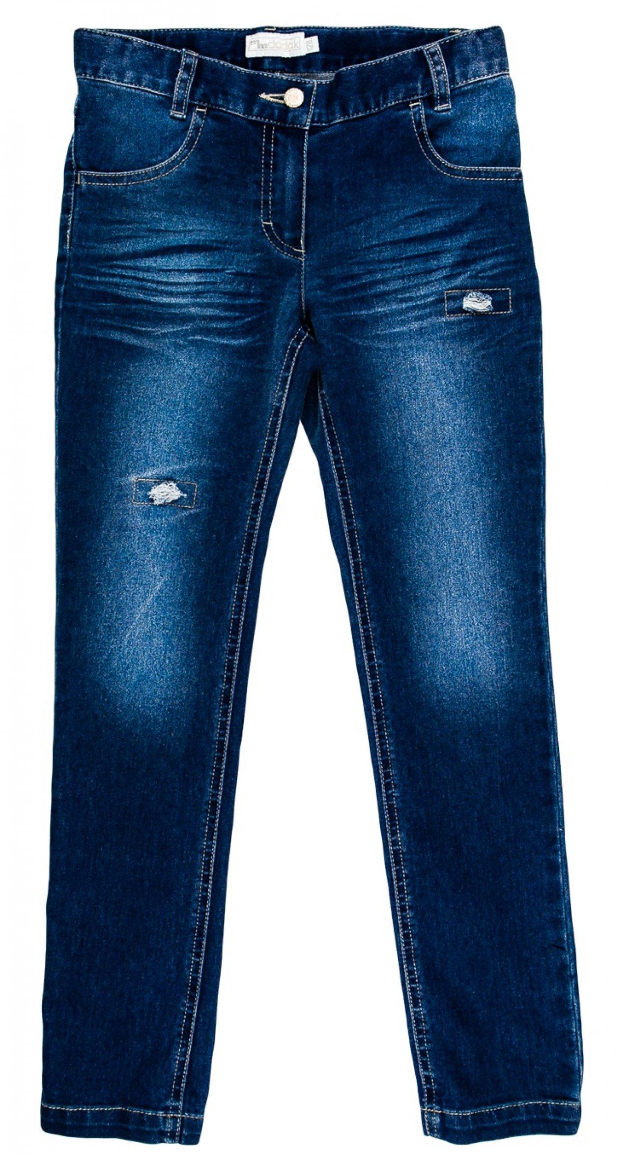 6e6f7d6c084 MMDadak Dívčí riflové kalhoty - modré