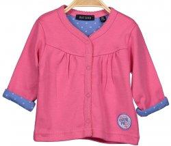 Blue Seven Dívčí propínací kabátek - růžový, 68 cm