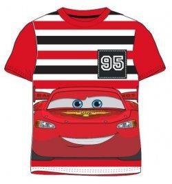 E plus M Chlapecké tričko Cars - červené, 116 cm