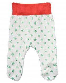 Garnamama Dětské polodupačky s hvězdičkami - barevné, 68 cm