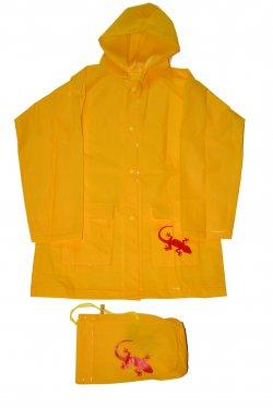 PIDILIDI Dětská pláštěnka Salamander - žlutá, 152 cm