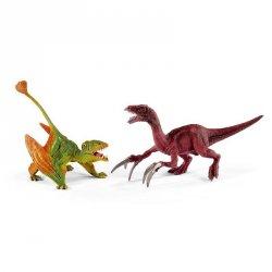 Schleich Prehistorická sada Dimorphodon a Therizinosaurus malí