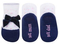 SOXO® Dívčí ponožky Balerínky - barevné, EUR 16-18