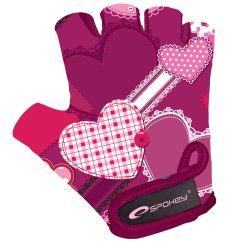 Spokey Dětské cyklistické rukavice Heart Glove XS