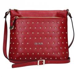 Dámská kožená peněženka Lagen Britta - červená