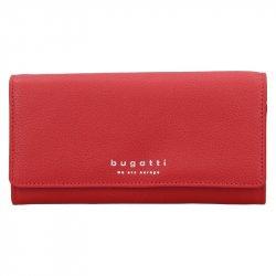 Dámská kožená peněženka Bugatti Enke - červená