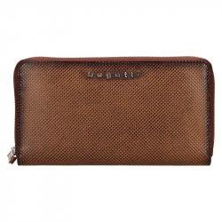 Dámská kožená peněženka Bugatti Erika - hnědá