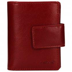 Dámská kožená peněženka Lagen Adina - červená