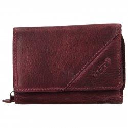 Dámská kožená peněženka Lagen Norra - fialová