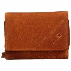Dámská kožená peněženka Lagen Norra - hnědá