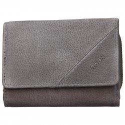 Dámská kožená peněženka Lagen Norra - šedá